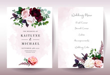 Luxury Fall Flowers Wedding Ve...
