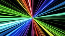 Abstract Colorful Rainbow Ligh...