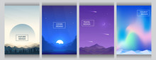 Vector Flat Style Background S...