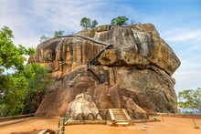 Sigiriya The Lion Rock In Sri ...