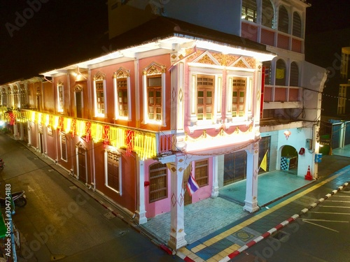 Fotografie, Obraz Shino Portuguese house in phuket town