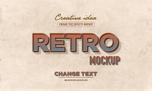 Rust Effect Text Mockup  Typography Full Editable Text