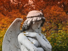 An Angel In A Cemetery