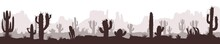 Cactus Desert Wide Image 01