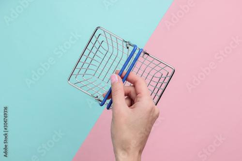 Canvastavla Online shopping concept, sale
