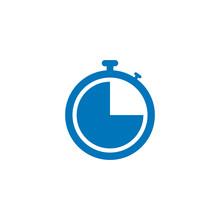 Clock, Time Icon Vector Design...