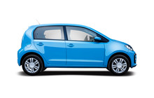 Small Hatchback City Car Side ...