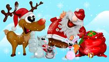 Comical And Funny Christmas Il...