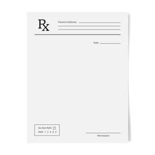 Rx Pad Template. Medical Regul...