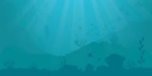 Vector Background - Underwater...