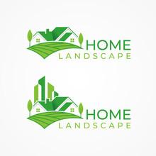 Green House Logo Vector, Green...