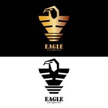 Eagle Logo Design Template. Ve...