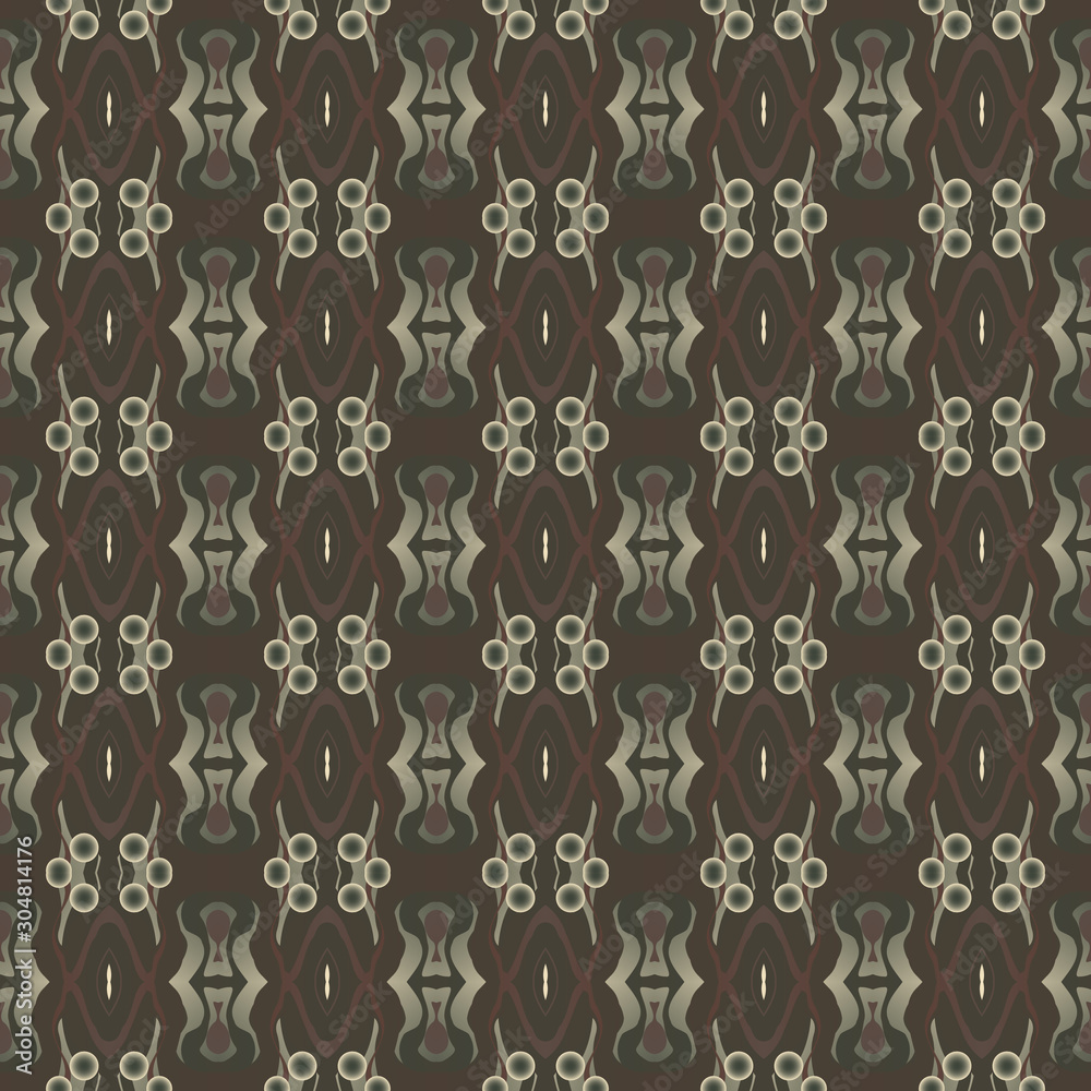Texture for wallpaper and fabric. Duplicate elements. Decoration. Seamless ornament. Abstract texture. Seamless background. Creative background. Seamless texture. Modern style. Abstract background