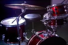Professional Drum Set Instrume...