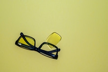 Broken Glasses With Folded Arc...