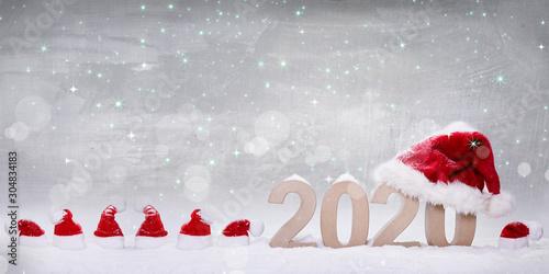 Weihnachten und Silvester Canvas
