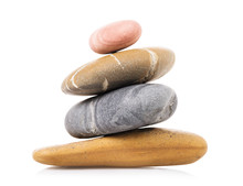 Balancing Pebbles Isolated On ...