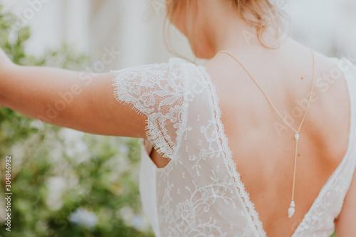 Photo Dos de la mariée