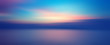 canvas print picture - Motion blurred background of sunset on the sea
