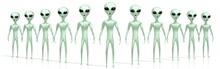 Green Aliens, Extraterrestrial...