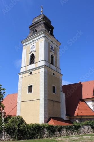 Tower of the church, Germany, Bavaria, Parsberg