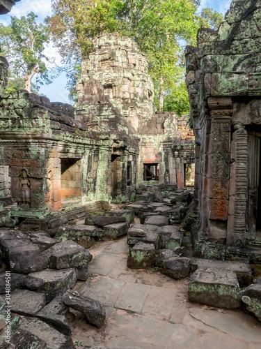 Temple Ruins in Siem Reap Cambodia