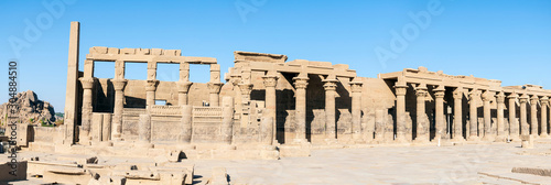 Temple of Philae Side View