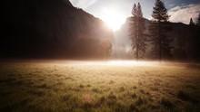 Yosemite Valley Sunrise Time L...
