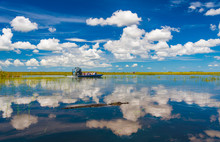Florida Everglades Airboat Rid...