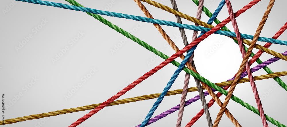 Fototapeta Connected Diversity