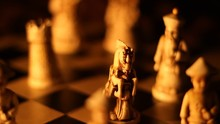 Asian Chess Dramatic Push