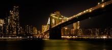 Brooklyn Bridge Night Lights B...