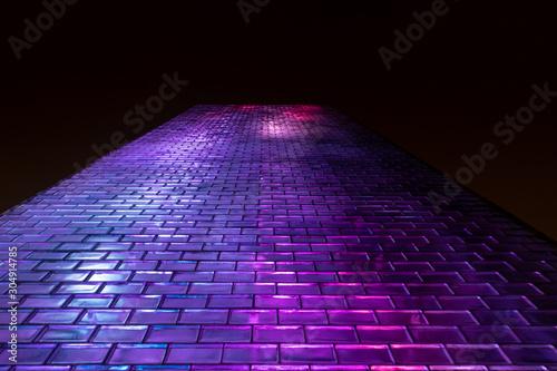 Fotografie, Tablou  Glass Brick Textured Wall