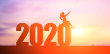 Businesswoman With 2020
