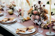 Beautiful Wedding Table Decoration & Wedding Table Setting
