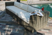Artistic Ethnic Classy Modern Elegant Luxury Indoor Home Interiors And Outdoor Garden Park Furniture Table Chair Cabinet Accessories From Rattan Plastic Wicker Or Wooden Materials For Hotel And House