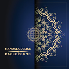 Mandala Luxury Background Design