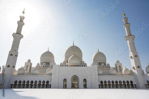 Abu Dhabi , United Arab Emirates  November  04 , 2019 Tablou Canvas