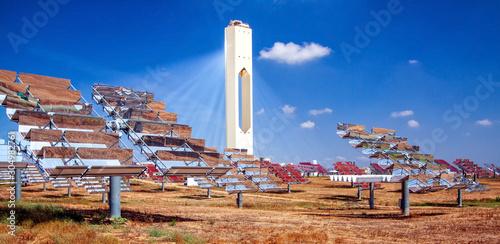 centrale solare a concentrazione - energie rinnovabili Wallpaper Mural