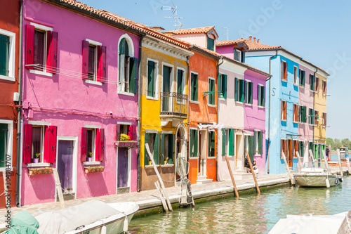 Fototapety, obrazy:  Colorful city - Burano, Italy