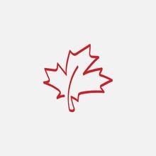 Maple Leaf Logo Template Vecto...