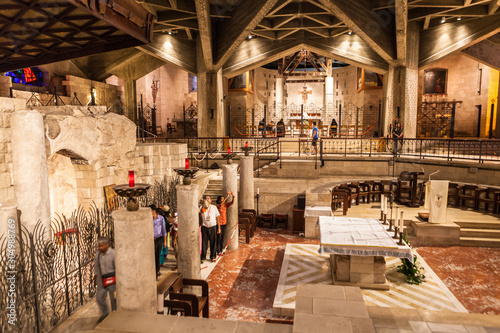 The Basilica of the Annunciation in Nazareth Wallpaper Mural