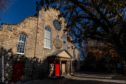 Stampa su Tela Canongate Kirk in Edinburgh