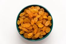 White Or Golden Raisins In A B...