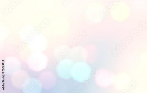 Fotografia Light bokeh defocus illustration