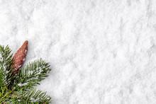 Christmas Snow Background, Com...