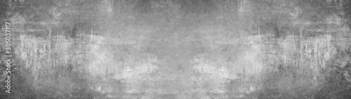 Photo Grey  stone concrete texture background panorama banner long