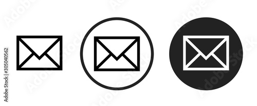 Fotomural email icon . web icon set .vector illustration
