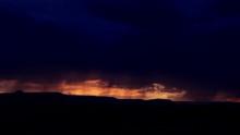 Sunset Lightning Storm In New ...