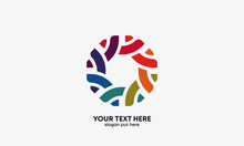 Global Community Logo. Communi...